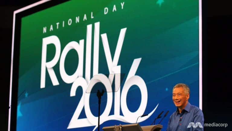 PM Lee at National Day Rally 2016