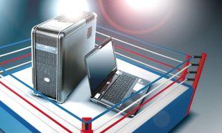 Komputer ring i laptop