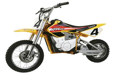 Razor MX650 Rocket Electric Motocross Bike best mini bike for adults