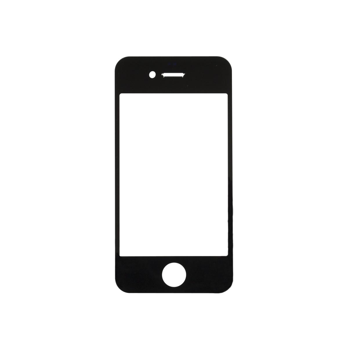 Iphone 4s Black Glass Lens Screen