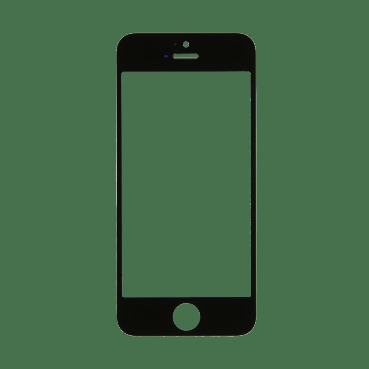 Iphone Se Black Glass Lens Screen