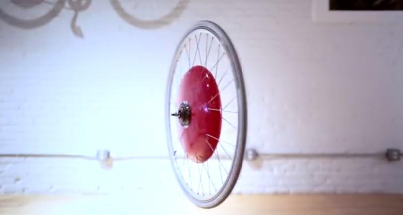 Copenhagen Wheel sur Fixie Lille