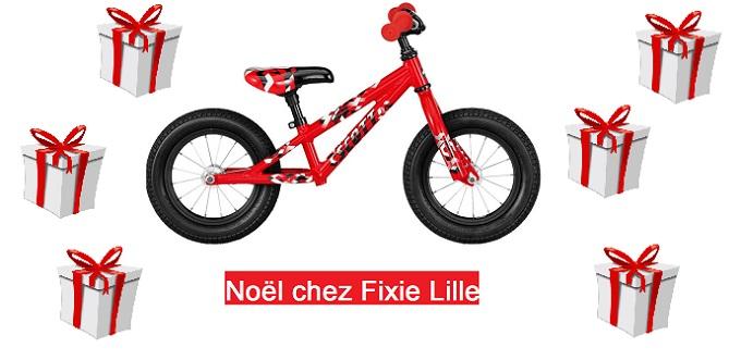 Noël chez Fixie Lille : vélos et cadeaux