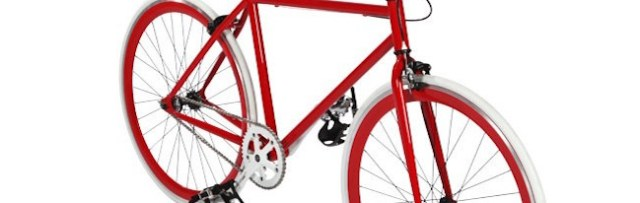 Un fixie rouge pas n'importe quel vélo rouge