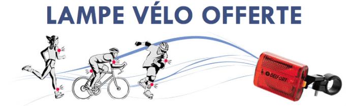 Lampe de vélo LeCyclo.com - Code promo