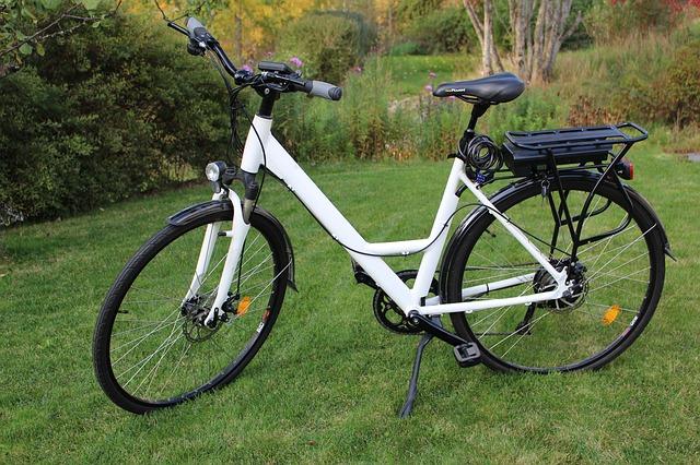 Un vélo électrique à côté de Lille