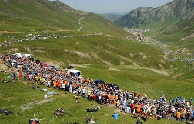 Etape du Tour de France de montagne : Le col Portet