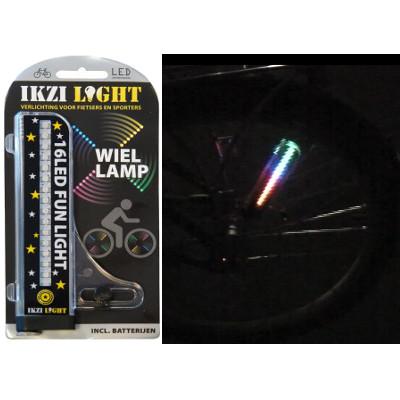 Lumière sur rayon de vélo - Ikzi Light