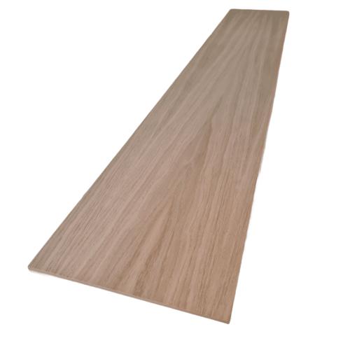 Oak Veneered Straight Riser