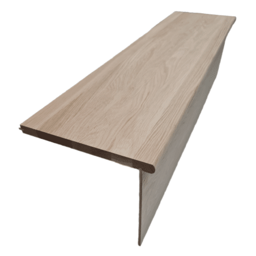 Oak Tread Grooved for Extension 1000 x 270 x 20mm