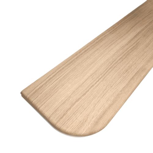 Oak Bullnose Tread & Riser set R/L