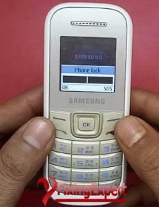 How to Factory Reset to Unlock Samsung Guru, B310E, B110E