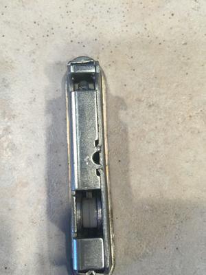 Need Help With Recessed Patio Door Lock