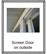 your sliding door screen and how to fix
