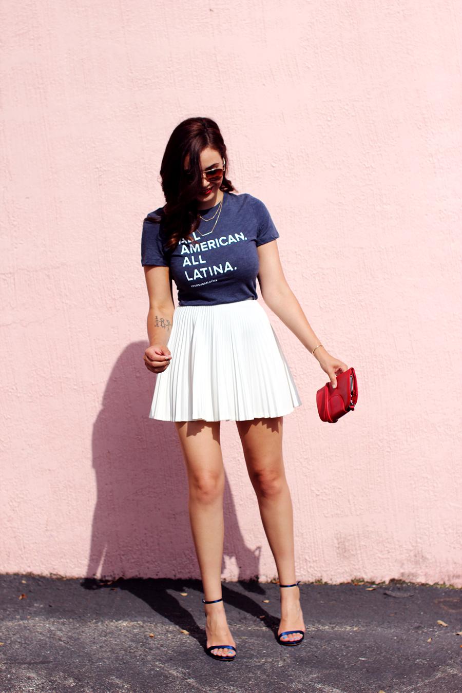 Fixin to Thrill | Austin Fashion Blog: 4th of July x Popsugar Latina