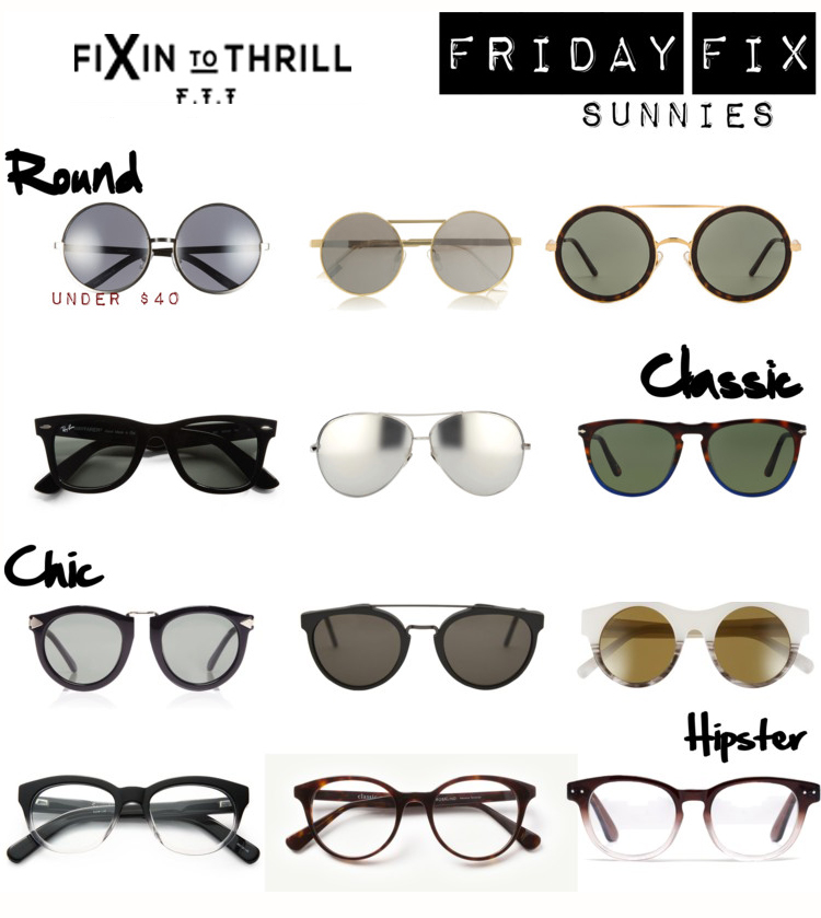 Fixin to Thrill| Austin Fashion Blog| Sunglasses