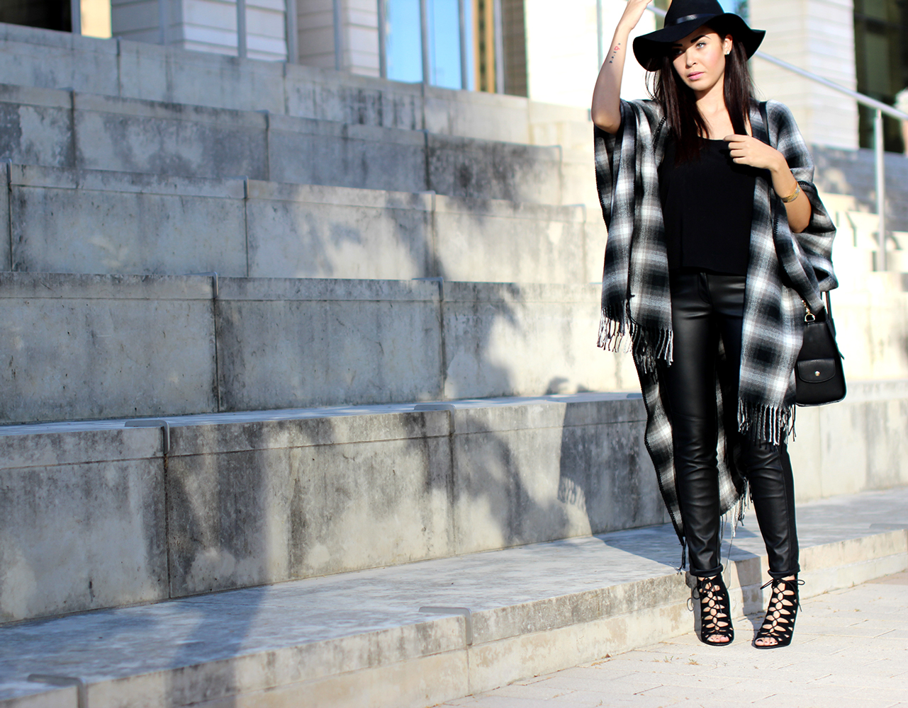 FIXIN-TO-THRILL-OVERSIZED-SCARF-CHECK-LEATHER-BLACK-NOVEMBER-ATX-AUSTIN-STYLE-BLOG-FW15-TRENDY-CHIC-GLAM-TEXAS-8