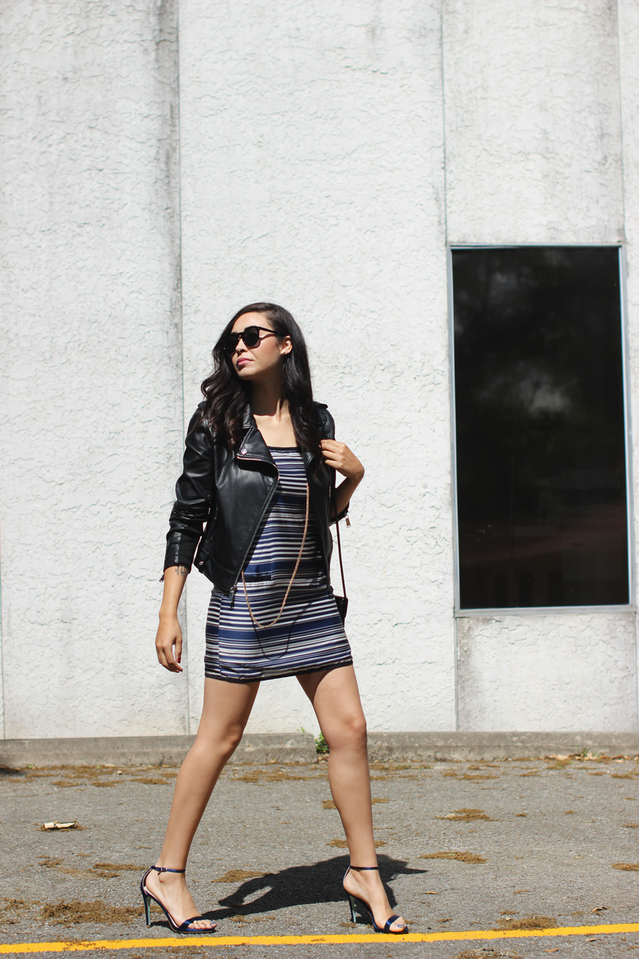FTT-STRIPED-DRESS-LEATHER-JACKET-BCBG-AUSTIN-BLOGGER-10