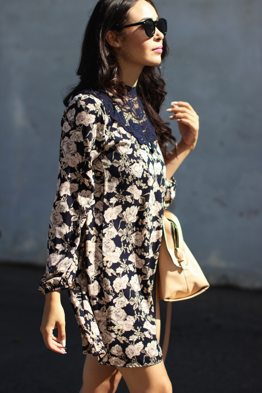 FTT-PINK-AND-SILVER-BLUE-HIGH-NECK-FLORAL-DRESS-13