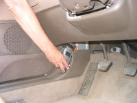 Your car's owner manual will show you how to plug in the diagnostic tool. If not, search online.