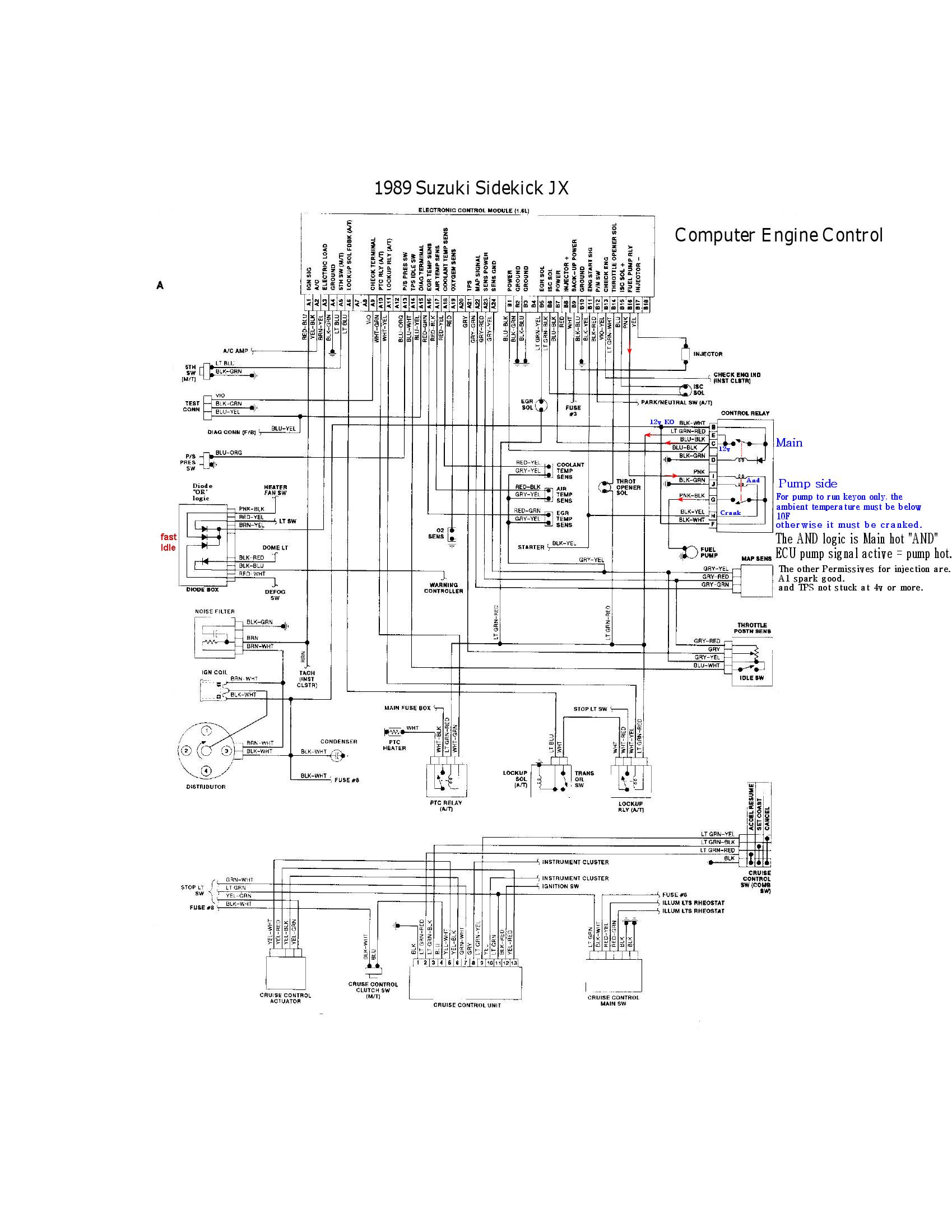 Geo Alternator Wiring Diagram