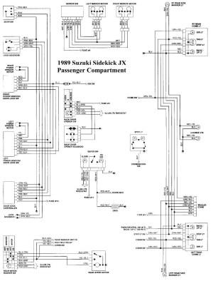 Suzuki Sidekick Wiring Diagram   Wiring Library