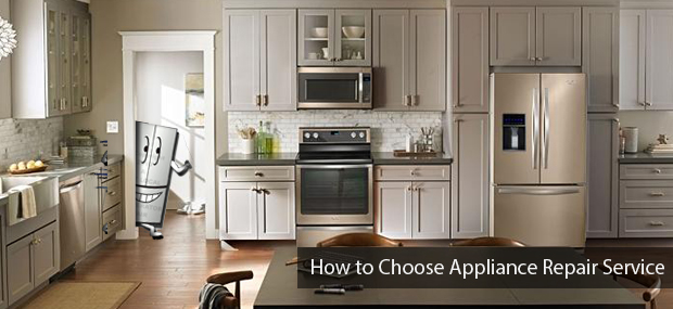 Choosing Appliance Repair