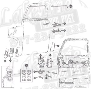 4755 First Series Chevrolet Pickup Rust Repair Panels