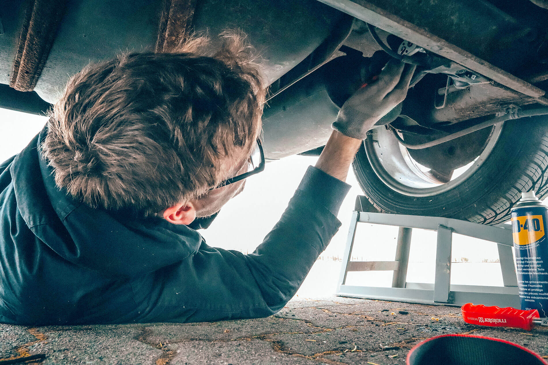 how to carry out simple exhaust repairs