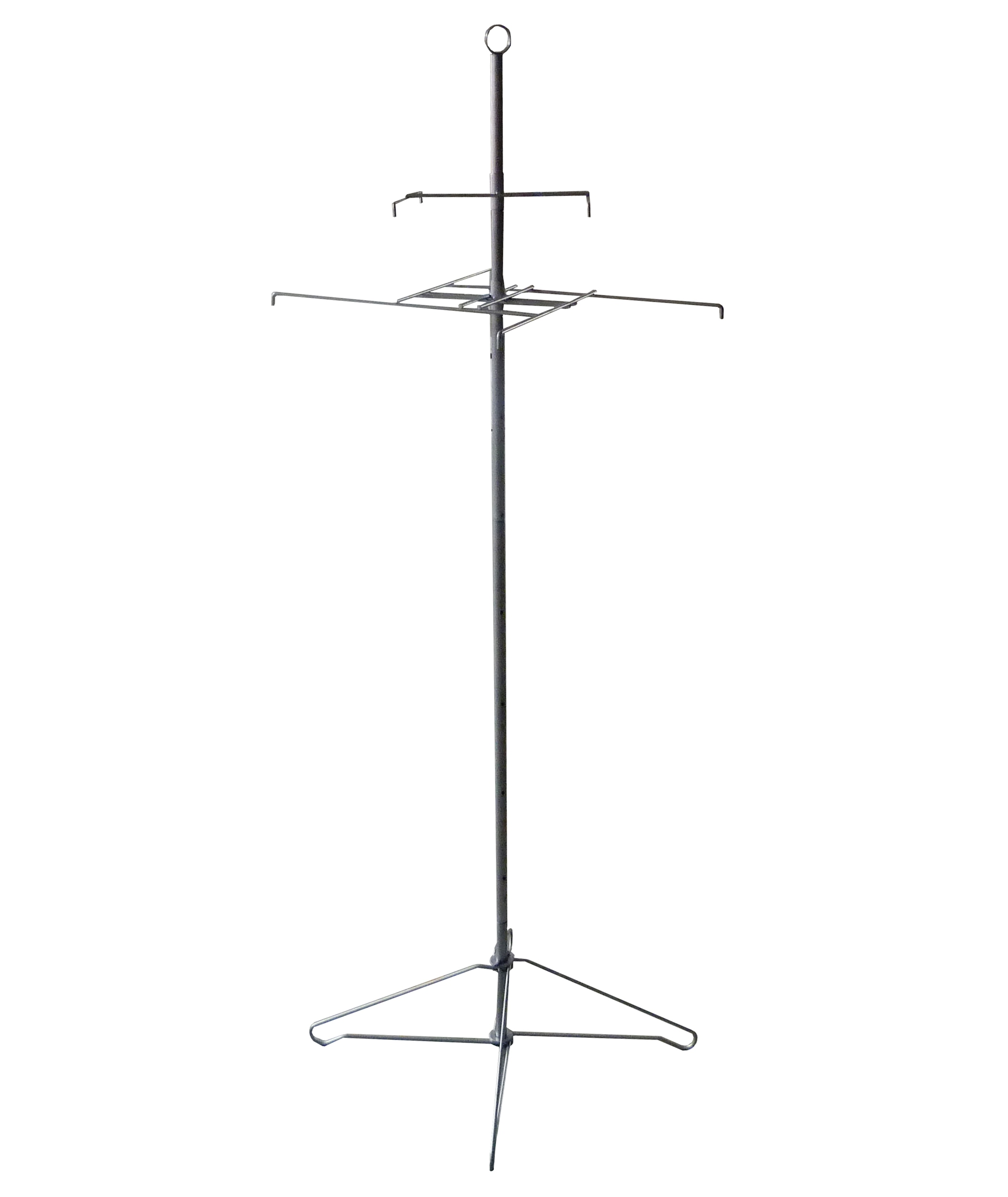 Metal Wire Spinner Rack 8 Prongs Hooks Cloth Rotary