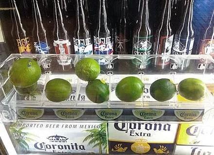 Cooler Door Lime Cross Sell