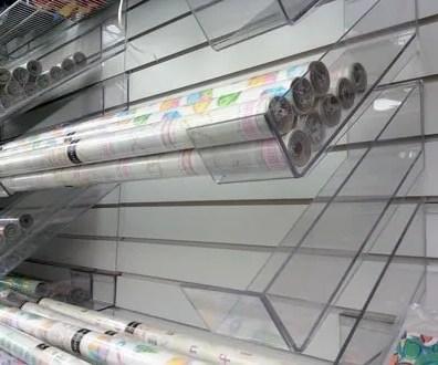 Acrylic Gift Wrap Arms