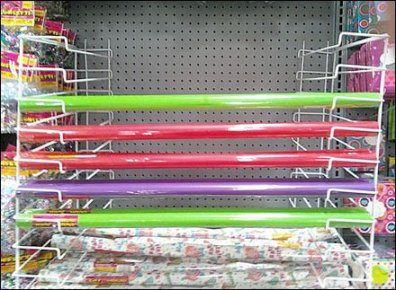 Gift Wrap Half Racks