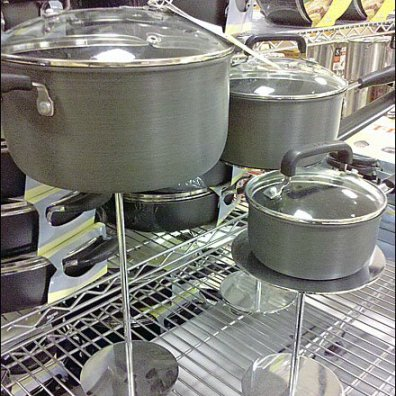 Cookware On Pedestal