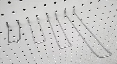 Safety Loop Pegboard Hook Baseline Post