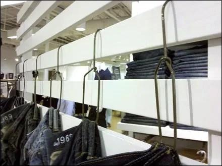 Belt Loop Hangers for Jeans