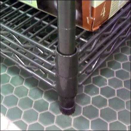 Metro SuperErecta Shelf Stack Detail