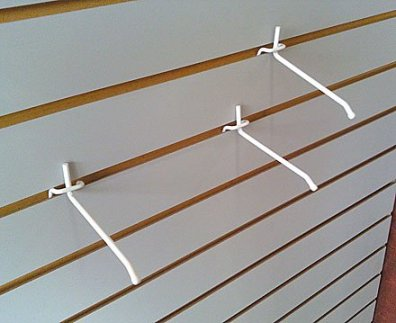 Inverted All Wire Slatwall Hooks