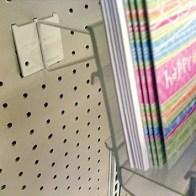 Pegboard Extender for Card Rack