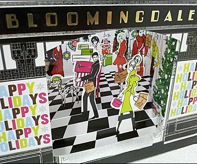 Bloomingdales Gift Card Diorama