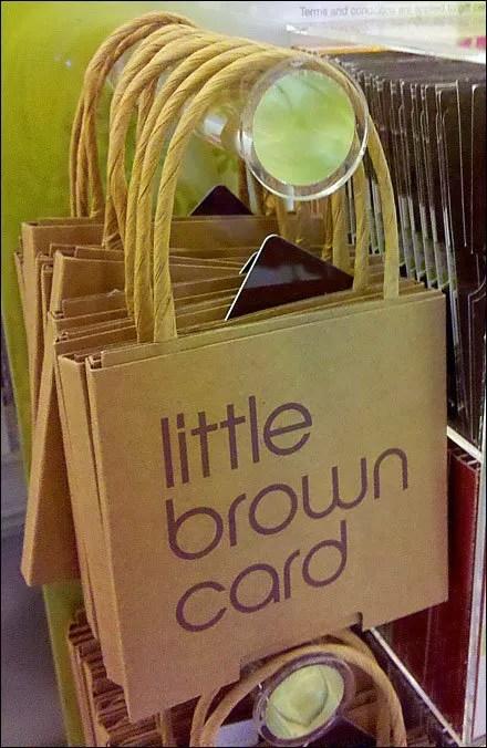 Bloomingdales Little Brown Gift Card
