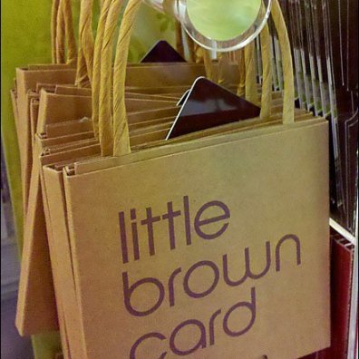 Bloomingdales Little Brown Gift Card