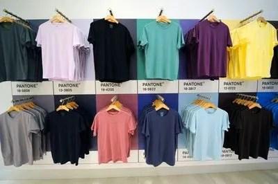 Pantone T-Shirt Pop-Up Store
