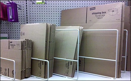 Diagonal Dividers for Corrugated Boxes