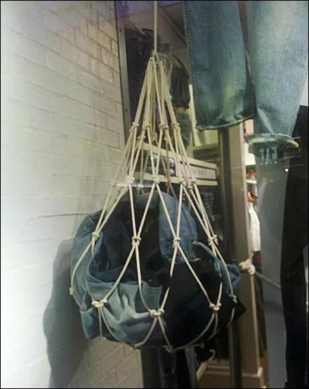 Jeans in Cargo Net