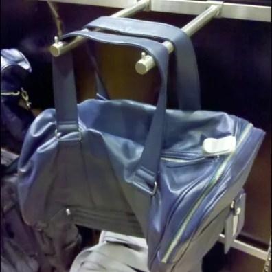 Twin Bar Hook Bag Display