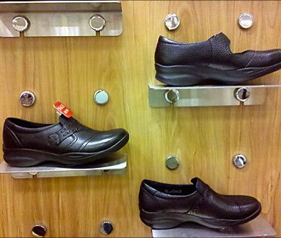 Knob Mounted Shoe Platforms