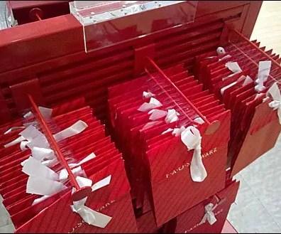 FAO Schwarz Red Display Hook
