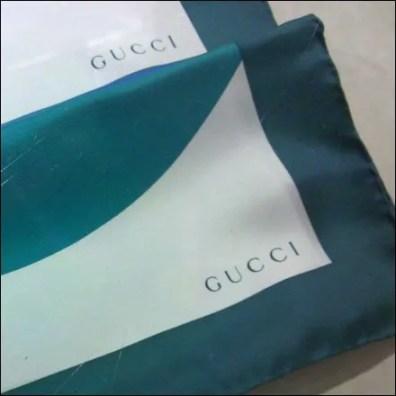 Gucci Logo on Scarves