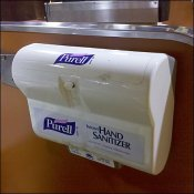 Purell Brand Miniature Cashwrap Sanitizer